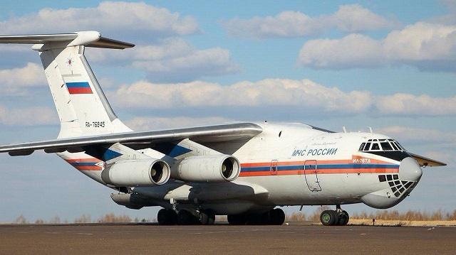 Российская Федерация направила гуманитарный груз в Казахстан