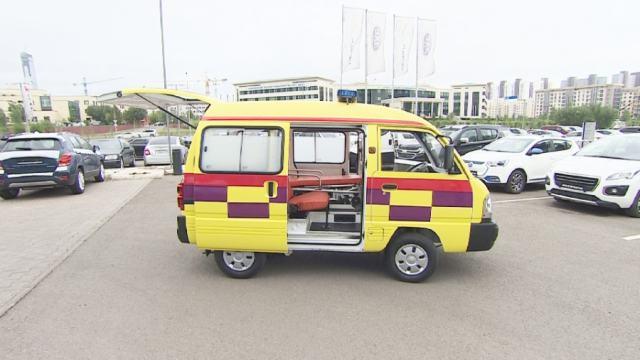 200 машин скорой помощи сойдут с конвейера завода в Костанае