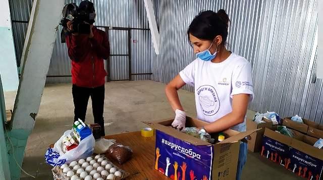 Благотворительная акция «Вирус добра» стартовала в Костанае