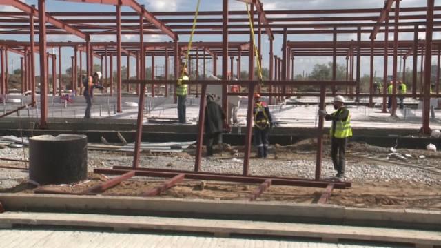 Как строят модульную инфекционную больницу на 200 мест в Костанайской области