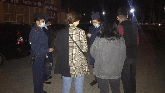 «Дети в ночном городе»: 80 подростков задержала полиция Актобе