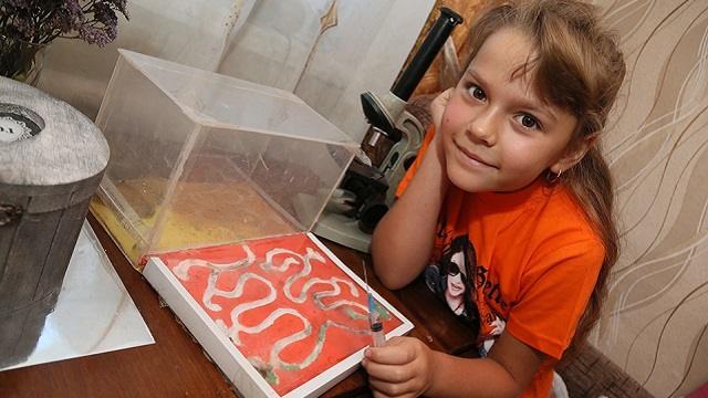 Самый юный «муравьёлог» живет в Костанайской области
