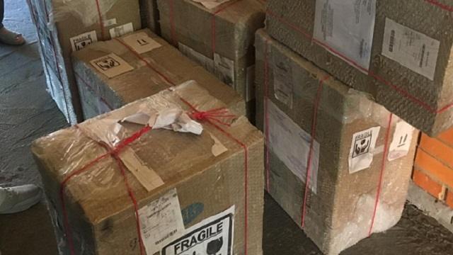 Гуманитарная помощь прибыла в областную больницу Костаная