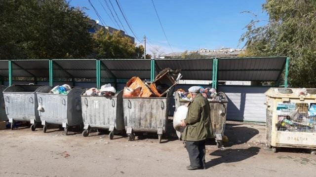 Жители Костаная заметили, что из дворов исчезают спецконтейнеры
