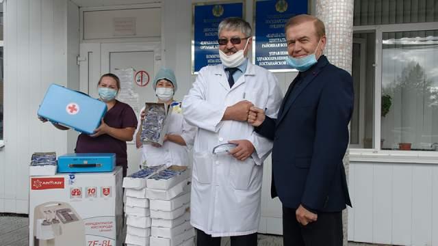 Предприниматель подарил районной больнице оборудование на 1,5 млн тенге