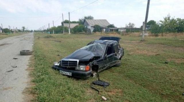 41-летний водитель Мерседеса погиб в результате ДТП в Костанайской области