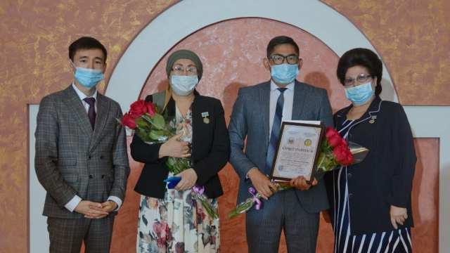 В Костанае работники культуры получили награды за вклад в развитие общества