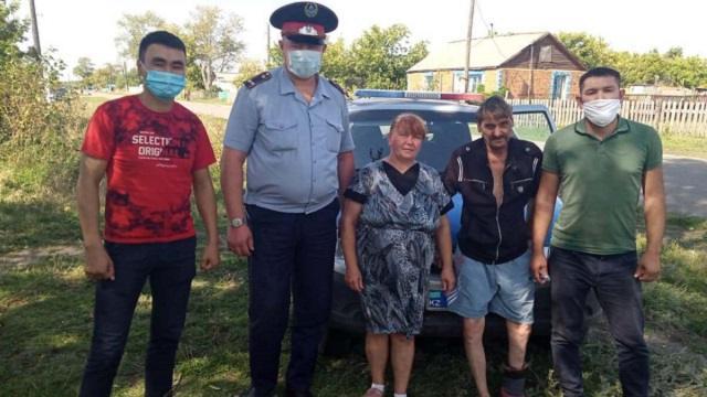 Полицейские Костанайской области отыскали мужчину, потерявшего память