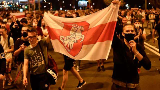 Как прошла ночь протестов с 12 на 13 августа в городах Беларуси?
