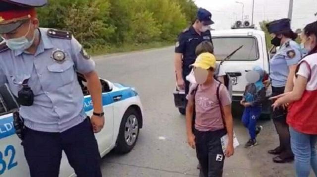 6-летний ребенок задержан полицией за поход на рыбалку в Темиртау