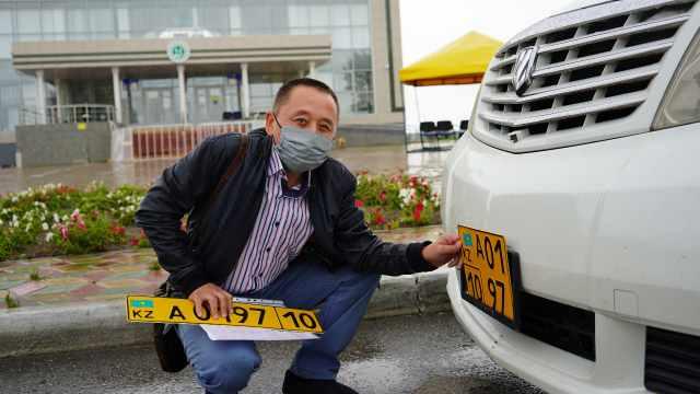 В Костанае зарегистрировали автомобиль, в котором рулевое управление переустановили справа налево