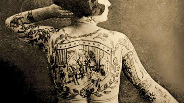Татуировки. Когда они появились на Руси?