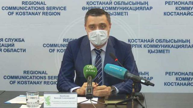Василий Цымбалюк покинул пост главы управления образования акимата Костанайской области
