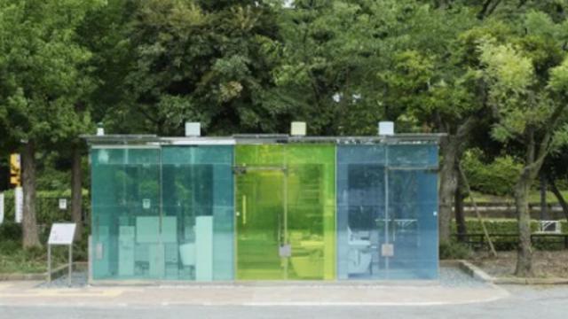 Стесняться нечего: Прозрачные общественные туалеты поставили в Японии