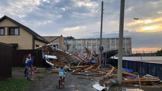 Ураган прошёлся по Челябинской области