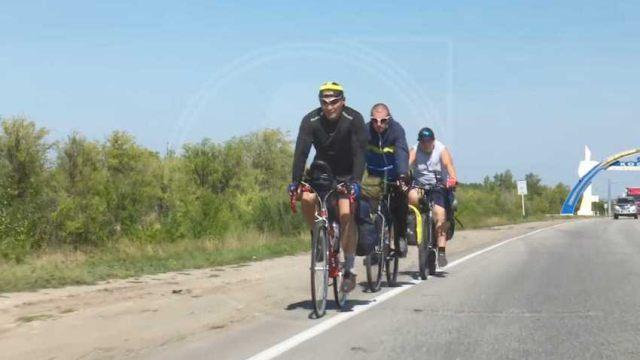 Жители Лисаковска решили доехать на велосипедах до Наурзумского заповедника