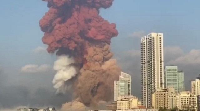 Здание посольства Казахстана разрушено при взрыве в Бейруте
