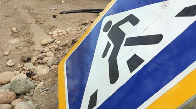 Жители Костаная недовольны отсутствием знаков на пешеходном переходе по проспекту Назарбаева