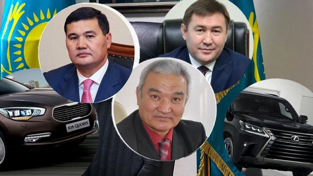 На каких служебных авто ездят акимы городов Казахстана