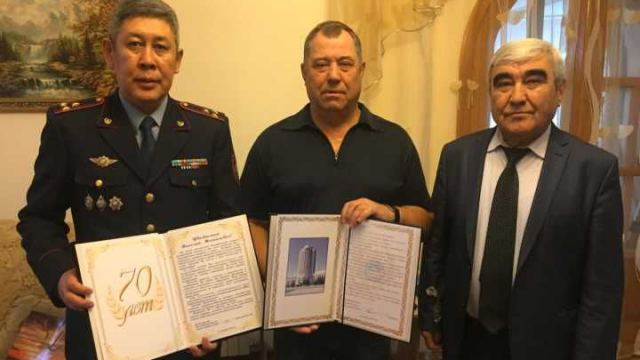 Генерал в отставке Николай Дейхин отметил 70-летний юбилей в Костанае