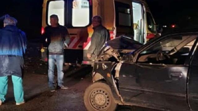 И снова трасса Костанай-Рудный: В столкновении пострадали два автомобиля