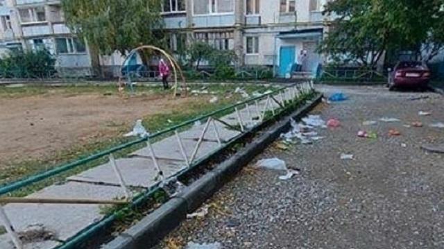 Жители Костаная жалуются на отсутствие асфальта во дворах