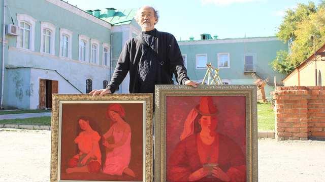 Известный художник Гани Баянов предлагает открыть большой выставочный зал в Костанае