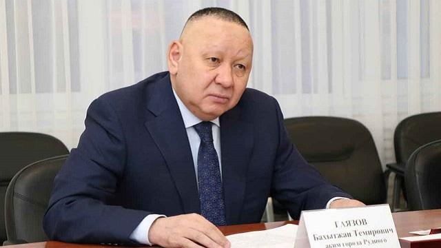 Бахытжан Гаязов покидает пост акима города Рудного?
