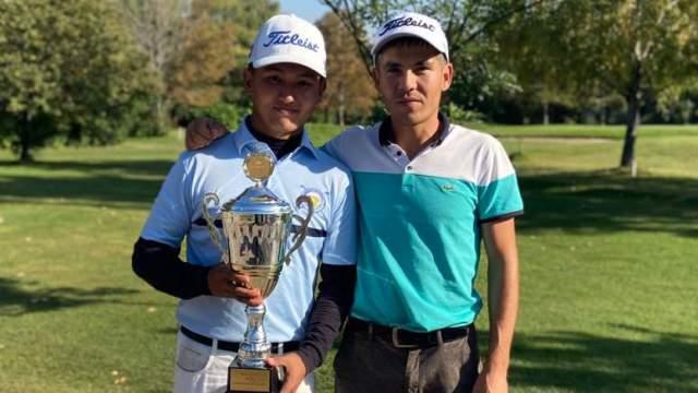 Гольфист из Костаная впервые занял 1 место в чемпионате Казахстана