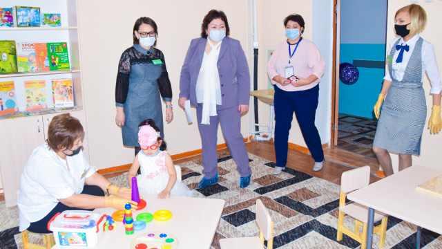 В Рудном открылся кабинет психолого-педагогической коррекции