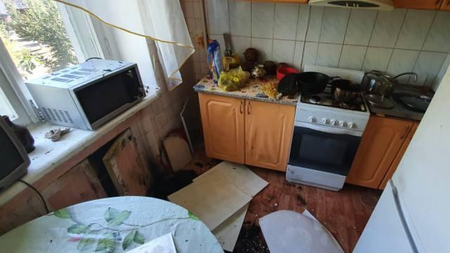 В Лисаковске при пожаре обнаружен труп женщины