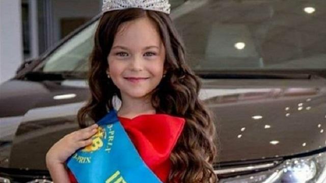 Шестилетняя жительница Костаная претендует на победу в конкурсе Miss World Internet