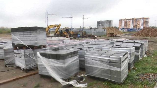 Для жителей микрорайона Аэропорт в Костанае построена зона отдыха