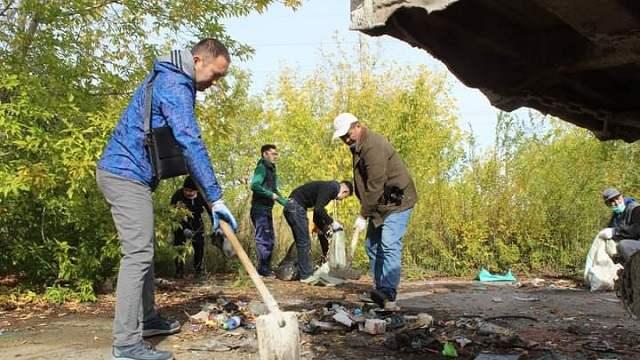 Около 500 тонн мусора собрали жители Костанайской области в субботу