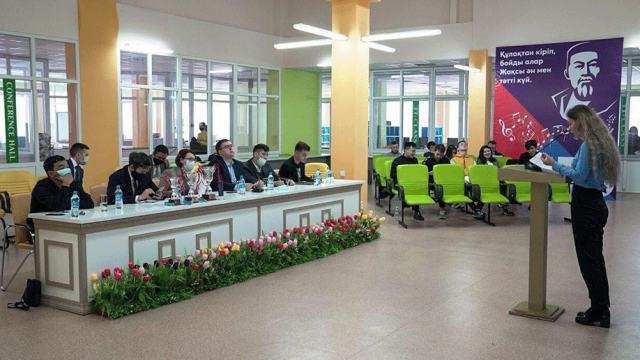 В Костанае состоялся второй турнир ораторов «Полилог»