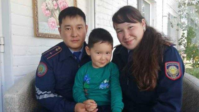 Папа, мама, я — полицейская семья! Пары из Костанайской области поделились секретами семейной жизни
