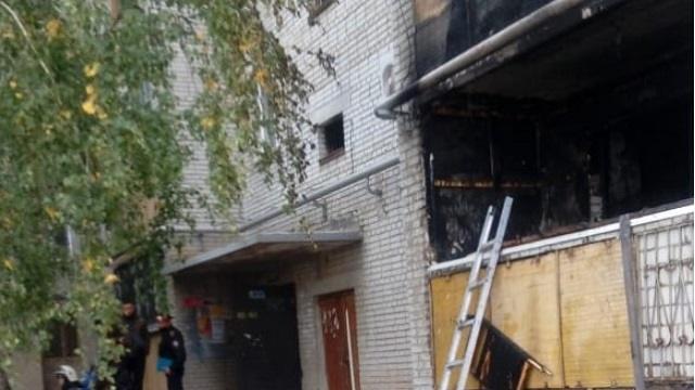 При пожаре в Костанае трое детей отравились угарным газом