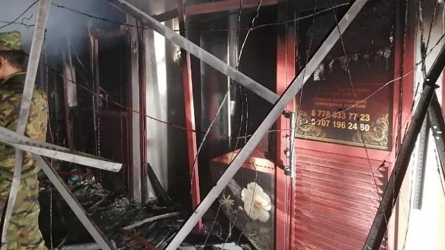 Торговый дом «Керуен» горел в Павлодаре