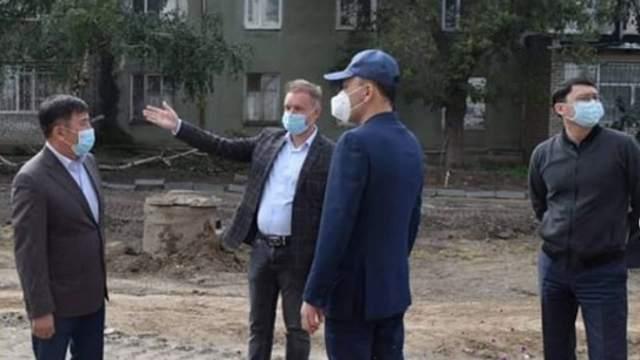 Подрядные организации отстают от графика ремонта улиц Пушкина и Сьянова в Костанае