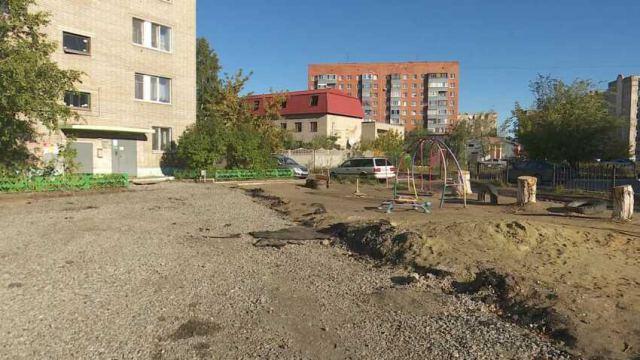 Жители дворов не могут дождаться обещанного ремонта в Костанае