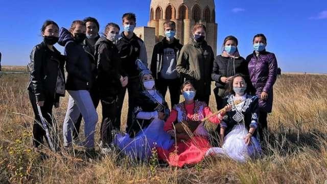 Студенты из Сарыколя выиграли квест-тур по сакральным местам Костанайской области