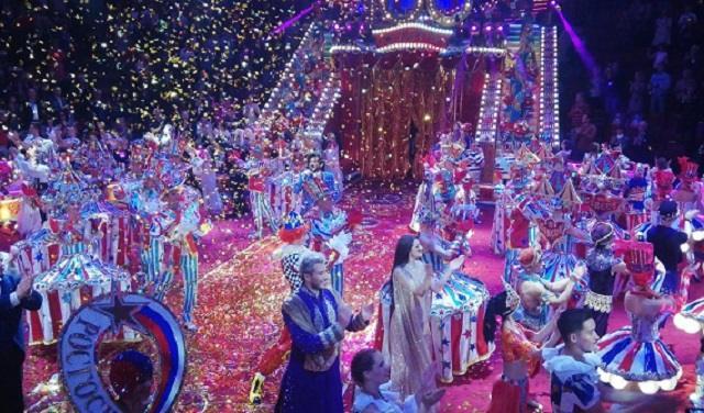 Большое гала-представление к 100-летию Советского цирка 27.09.2020 Первый канал