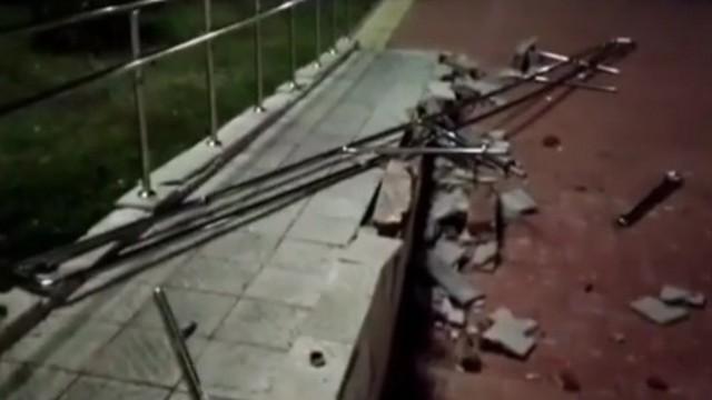 Установлена личность вандала, разгромившего пандус для инвалидов в Лисаковске