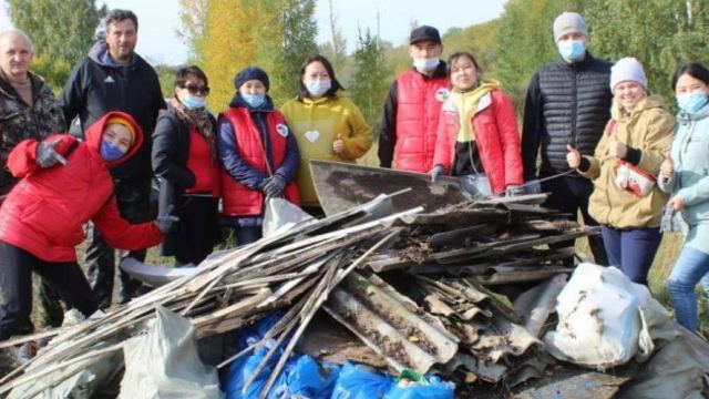 Во Всемирный день чистоты неравнодушные жители Костаная провели масштабный субботник