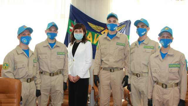 Военно-патриотический сбор молодежи «Айбын» прошел в Костанае