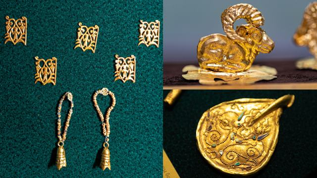 «Это только начало»: Золотой клад правителя сакской эпохи найден в ВКО