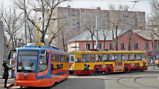 В Усть-Каменогорске трамвай насмерть сбил 62-летнего пешехода