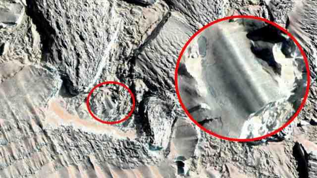 Необъяснимая стометровая аномалия обнаружена в Антарктиде