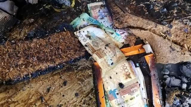 «Подвиг в Павлодаре»: Пожарный вернул крупную сумму владельцу сгоревшего бутика