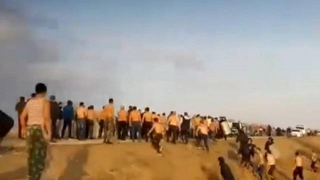 Массовая драка между казахами и курдами в Дергачах 24.10.2020 Россия